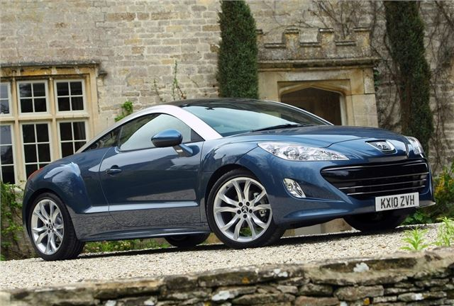 peugeot rcz 2010 car review honest john. Black Bedroom Furniture Sets. Home Design Ideas