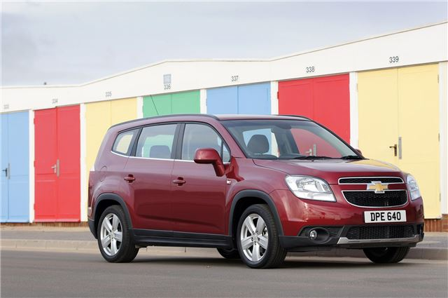 Chevrolet Orlando 2 0 Vcdi 163ps 2011 Road Test Road Tests