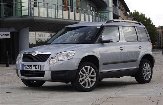 Latest Skoda Yeti Offers From Uk Car Discount Motoring