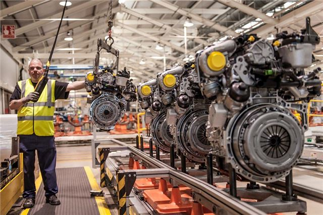40 000 000th Engine Comes Off The Line At Ford S Dagenham