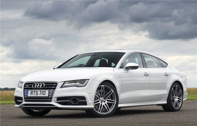 Audi S Sportback White
