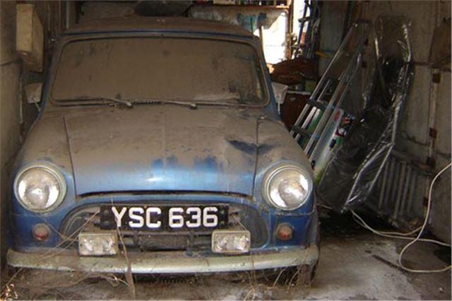 Rare 1961 Oselli Mini Barn Find Headlines Classic Car Auction