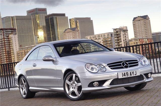 Mercedes benz clk w209 2002 car review honest john for How much is a mercedes benz oil change