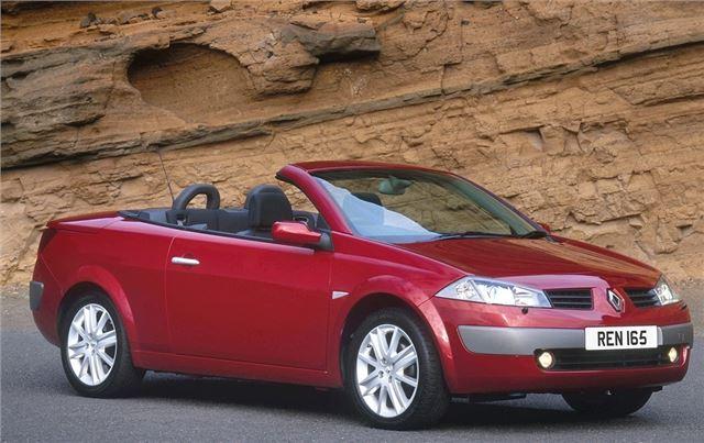 renault megane coupe cabriolet 2003 car review honest john. Black Bedroom Furniture Sets. Home Design Ideas