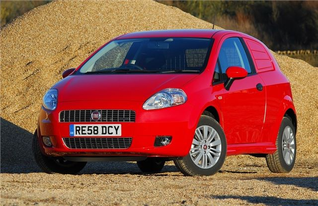 Fiat Punto Van 2007 - Van Review | Honest John
