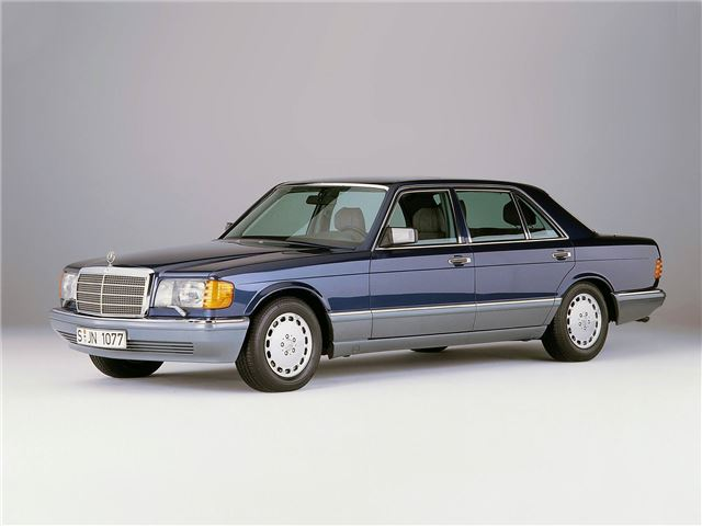 Mercedes benz s class w126 classic car review honest for Mercedes benz blue window tint