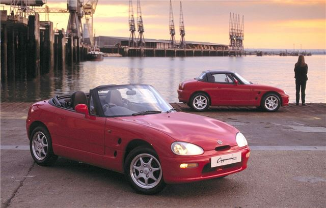 suzuki cappuccino classic car review honest john. Black Bedroom Furniture Sets. Home Design Ideas