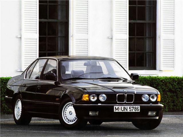 BMW 7 Series 1986