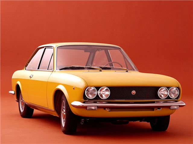 fiat 124 coupe classic car review honest john. Black Bedroom Furniture Sets. Home Design Ideas