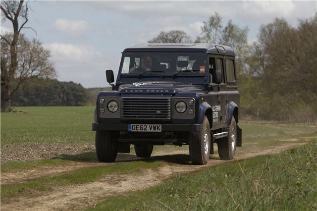 land rover defender electric prototype | road tests | honest john
