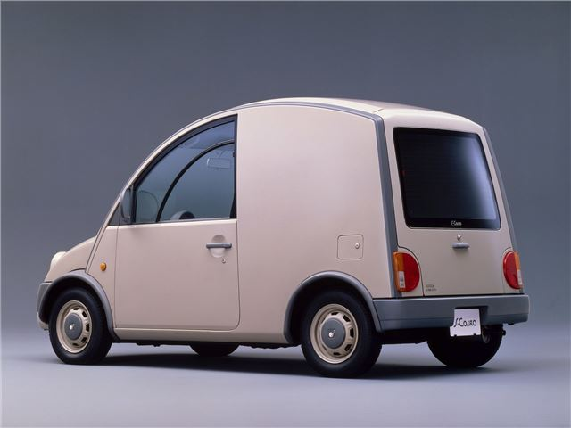 fa44541a08 Nissan S-Cargo - Classic Car Review