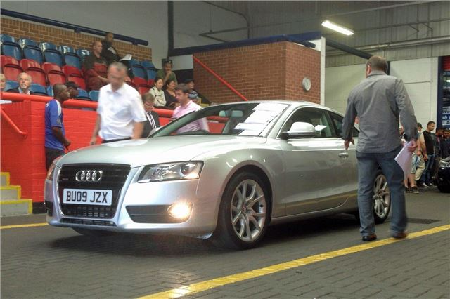 Todays Car Auction Prices Reflect Economic Upturn Motoring News - Audi car auctions