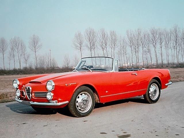Alfa Romeo 20002600 Spider Classic Car Review Honest John
