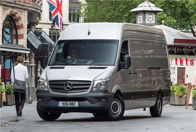 Mercedes-Benz Sprinter 2013 - Van Review - Driving | Honest John