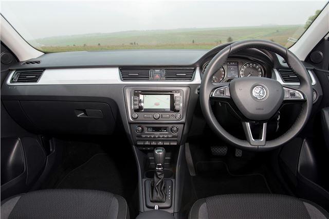 Skoda Rapid Spaceback 2013 - Car Review - Interior   Honest John
