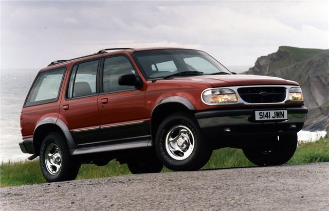 Ford Explorer 1997 Car Review Honest John
