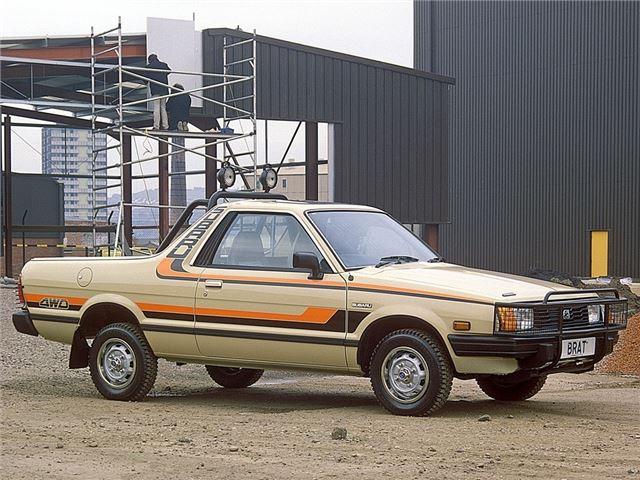 Subaru Brat Classic Car Review Honest John