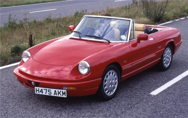 Alfa romeo boat tail spider for sale uk