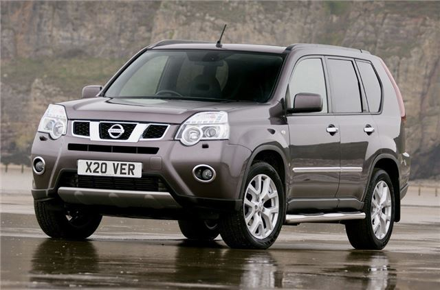 nissan x trail 2007 car review honest john. Black Bedroom Furniture Sets. Home Design Ideas