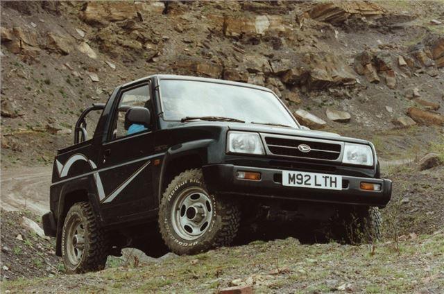 Daihatsu Sportrak 1989 Car Review Honest John