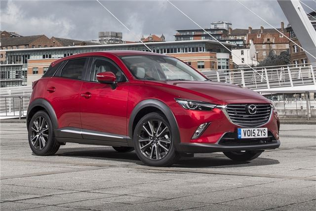 Mazda cx 3 reviews 2015