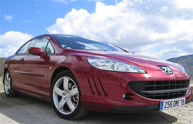 peugeot 407 coupe 2005 road test road tests honest john. Black Bedroom Furniture Sets. Home Design Ideas