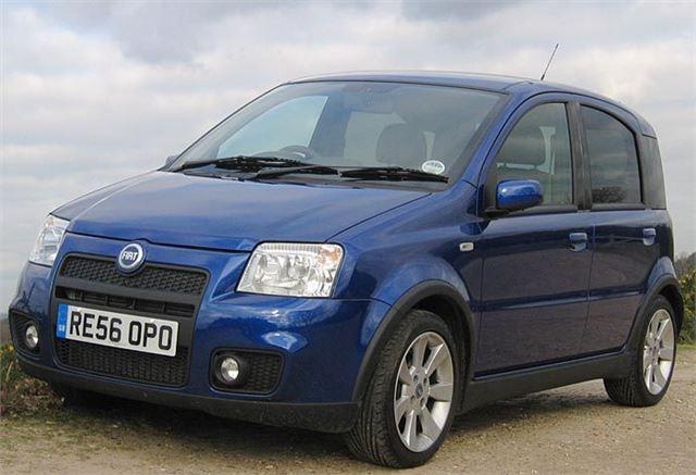 Fiat Panda 100hp 2007 Road Test