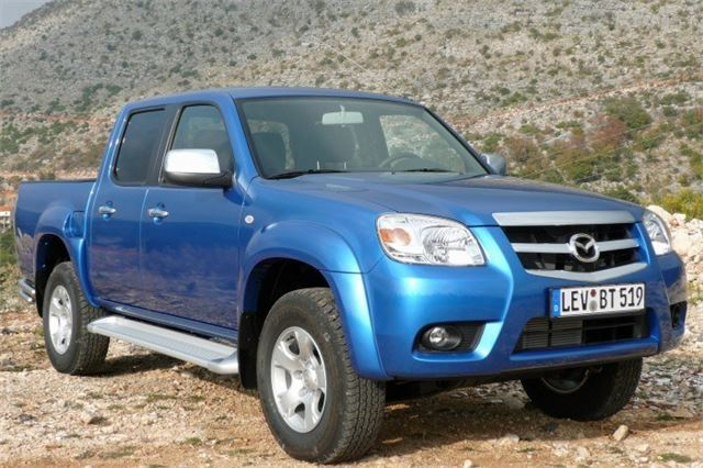 mazda bt 50 pick up 2008 road test road tests honest john. Black Bedroom Furniture Sets. Home Design Ideas