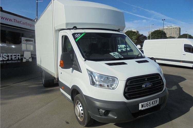 52 Used Ford Luton Vans For Sale | Honest John