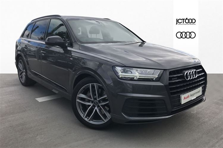 Used Audi Q7 Black Edition Up To 1 Year Old Cars For Sale Cars For