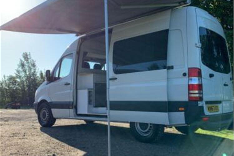 Used Volkswagen Crafter Campervans For Sale Honest John