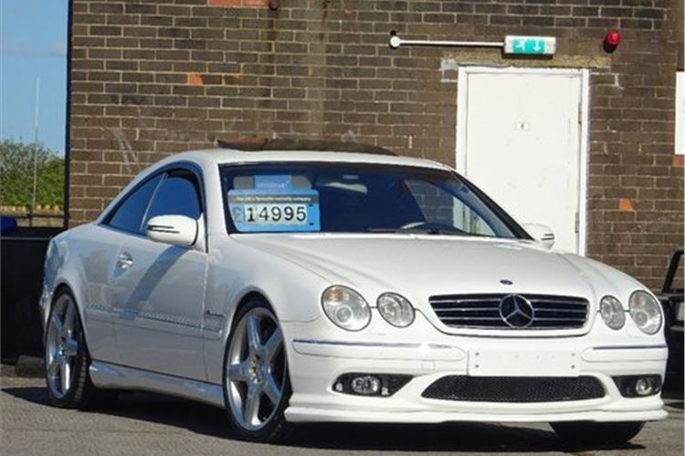 Mercedes Benz Cl Cl55 Amg Classic Cars For Sale Honest John
