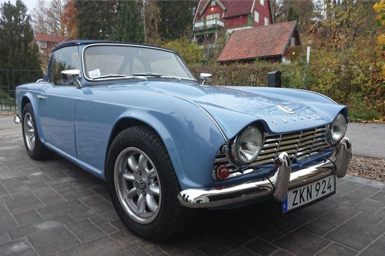 Triumph TR4 Manual Classic Cars For Sale   Honest John