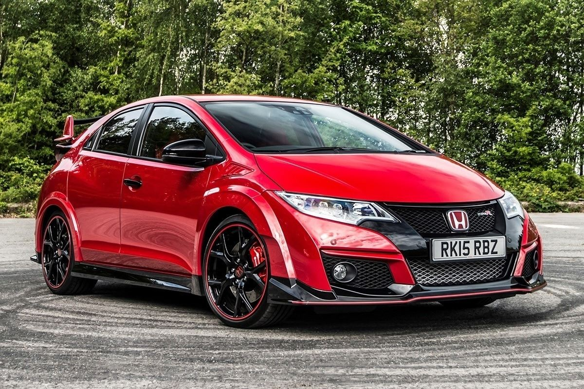 honda civic type r 2015 car review honest john. Black Bedroom Furniture Sets. Home Design Ideas