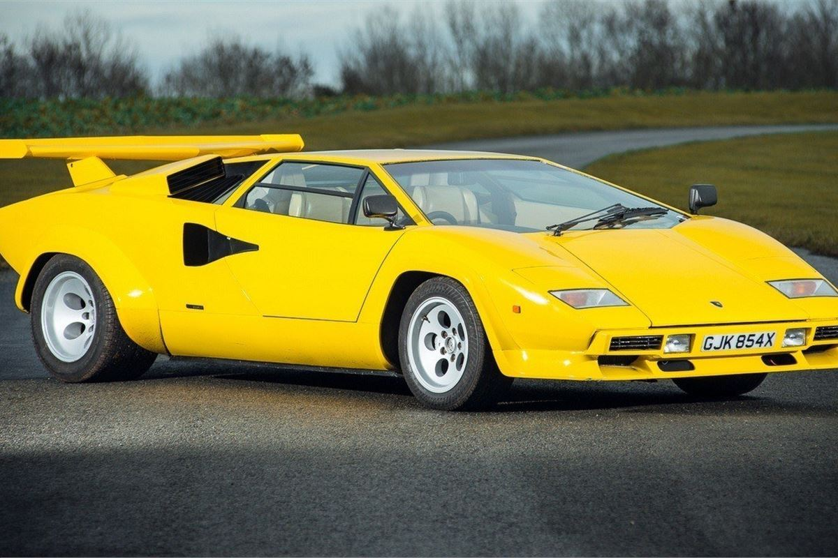 Rare Lamborghini Countach 400s Joins Race Retro Sale
