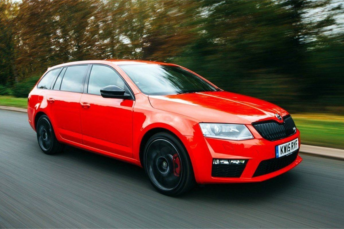 Skoda octavia vrs 230 estate 2016 road test road tests for Ecksofa 230 x 230