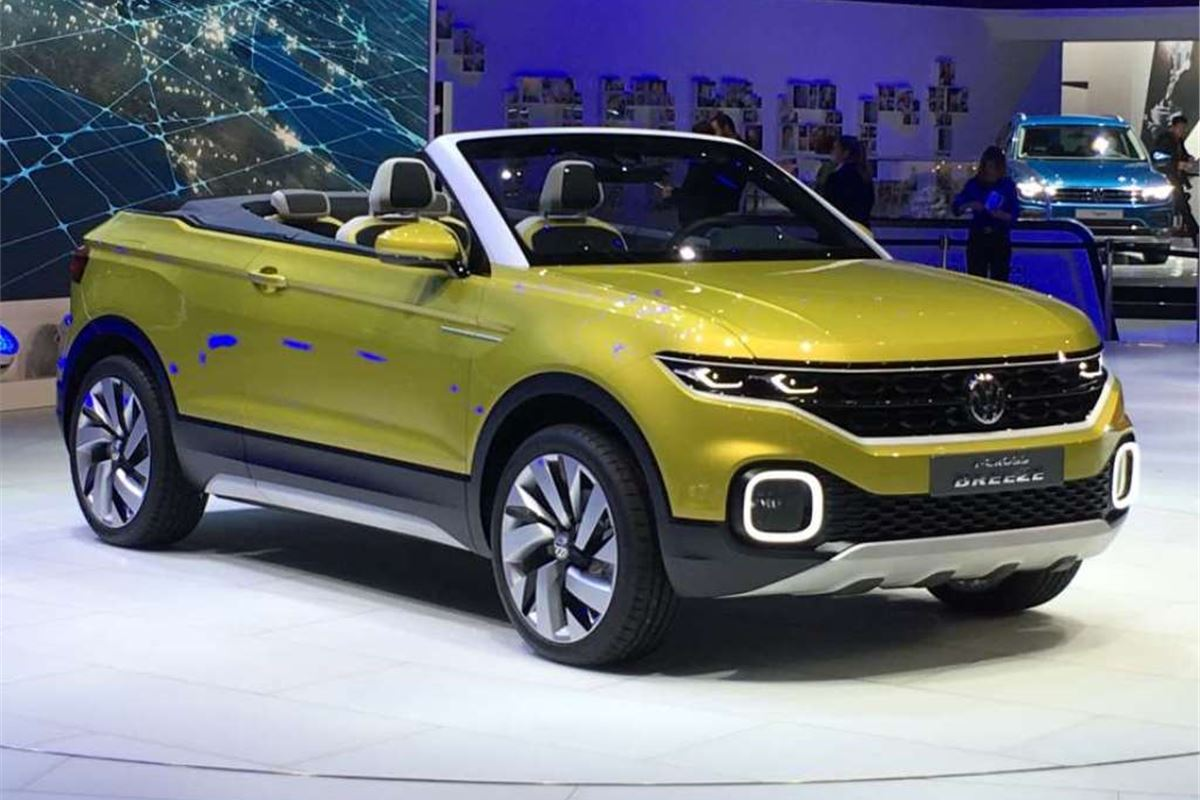 Geneva 2016 Volkswagen Shows T Cross Breeze Convertible