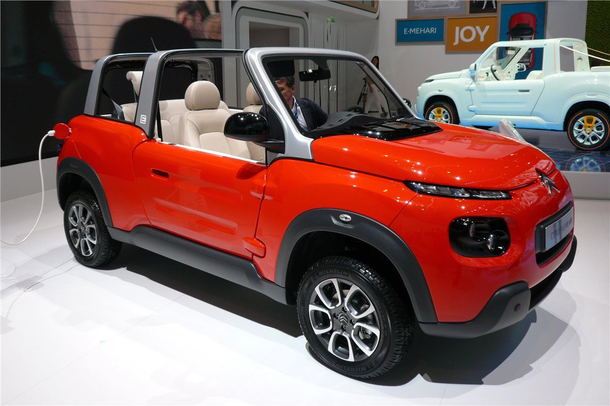 citroen e mehari 2016 car review honest john. Black Bedroom Furniture Sets. Home Design Ideas