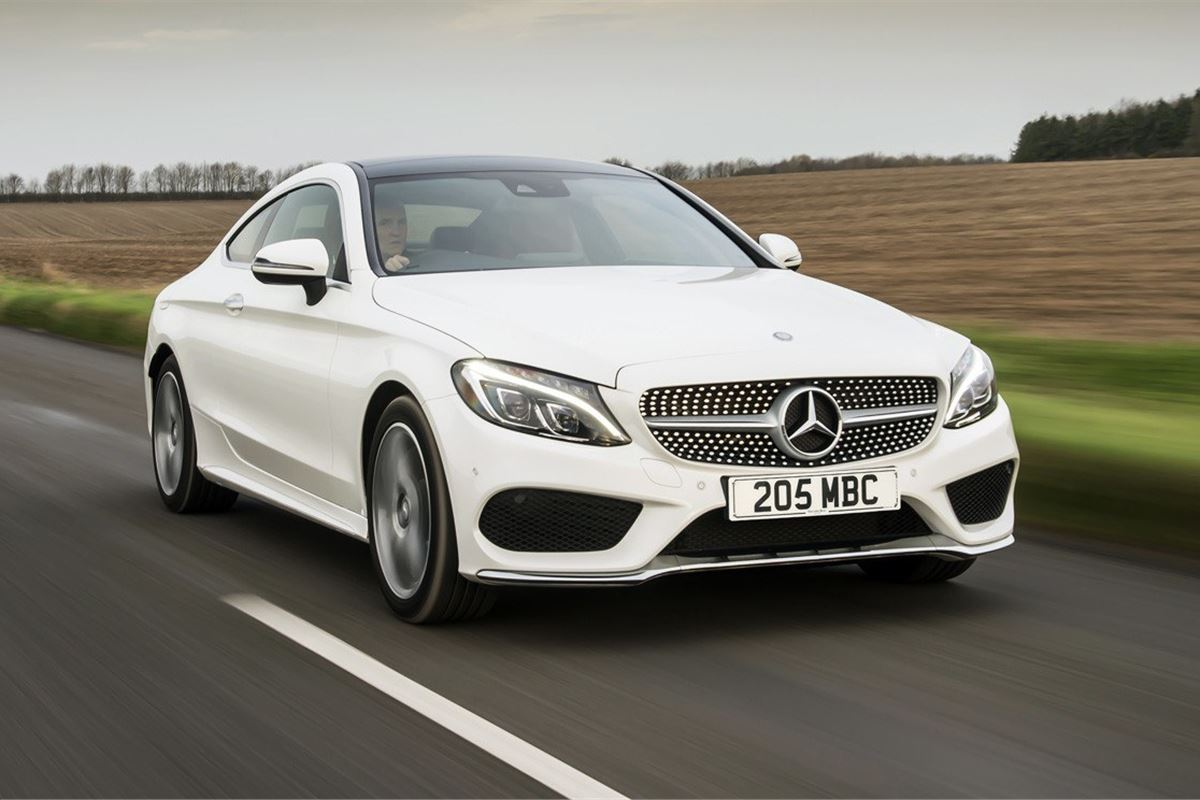 Mercedes benz c class coupe 2016 car review honest john - Mercedes c class coupe used ...