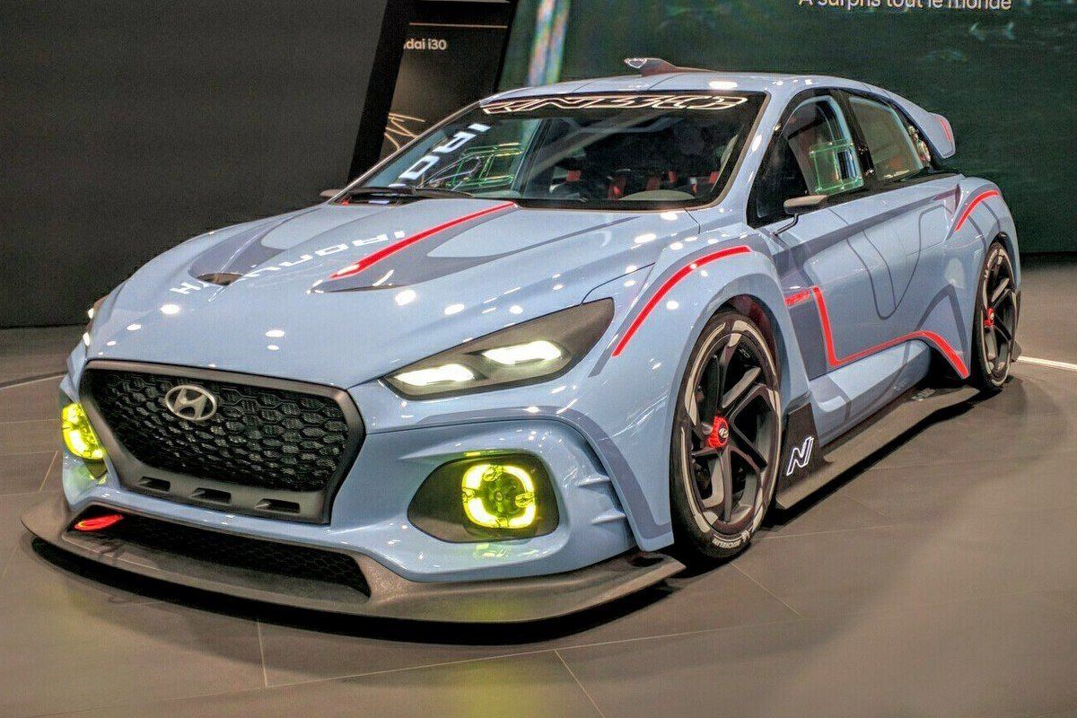 Paris Motor Show 2016 Hyundai Rn30 Points To I30n Hot