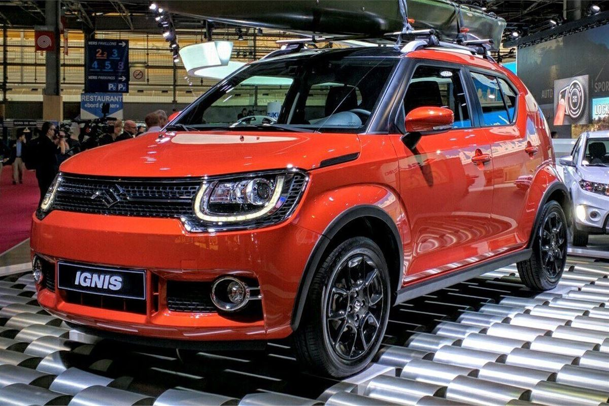 paris motor show 2016 suzuki ignis gets european debut motoring news honest john. Black Bedroom Furniture Sets. Home Design Ideas