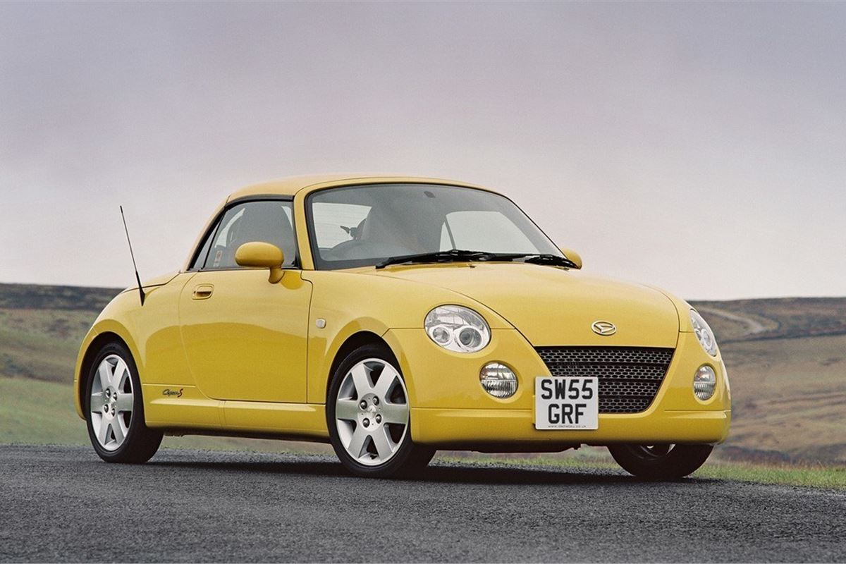 daihatsu copen 2003 car review honest john. Black Bedroom Furniture Sets. Home Design Ideas