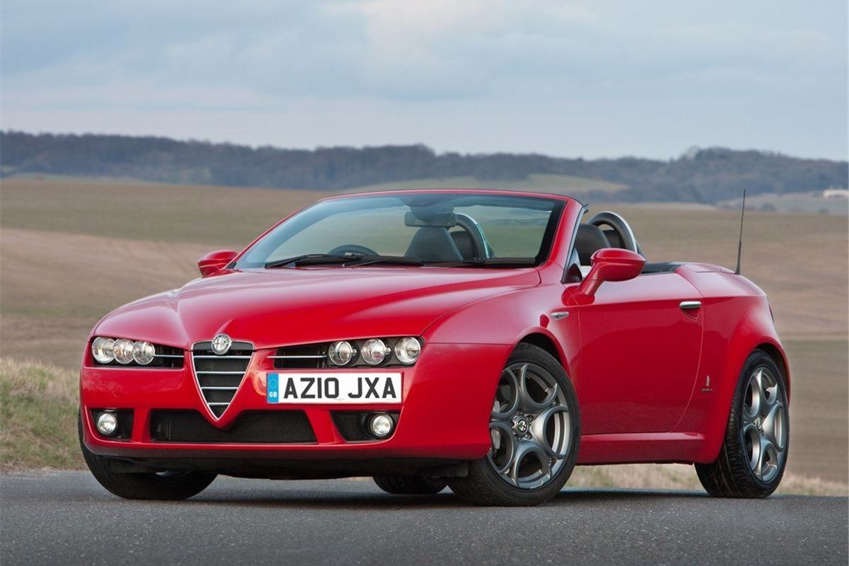 Cheap Car Leasing >> Alfa Romeo Spider 2007 - Car Review | Honest John