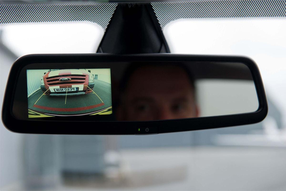 Ford Fiesta Gets Rear View Mirror Reversing Camera