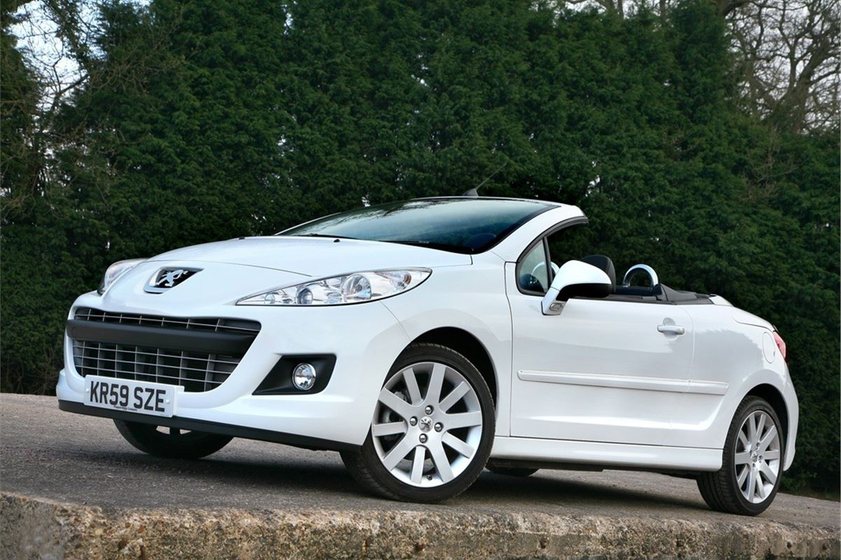 peugeot 207 cc 2007 car review honest john. Black Bedroom Furniture Sets. Home Design Ideas