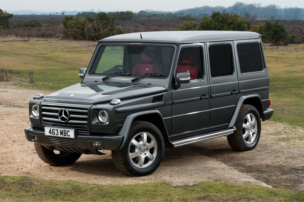 Mercedes benz g class w463 2010 car review honest john for Mercedes benz g class 2010 for sale