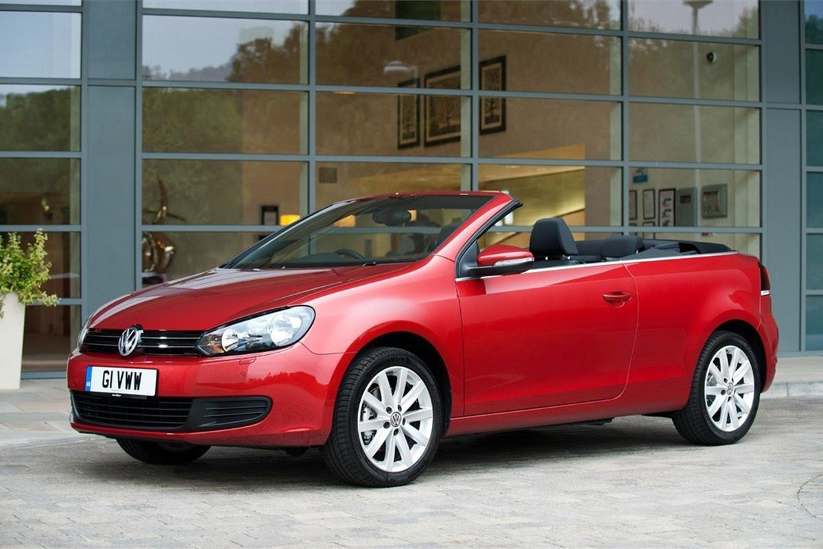 volkswagen golf vi cabriolet 2011 car review honest john. Black Bedroom Furniture Sets. Home Design Ideas
