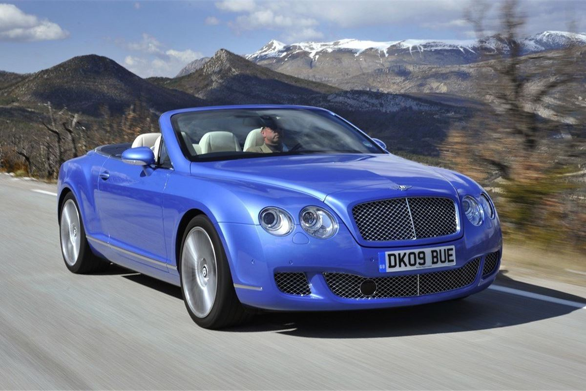 bentley continental gtc 2007 car review honest john. Black Bedroom Furniture Sets. Home Design Ideas