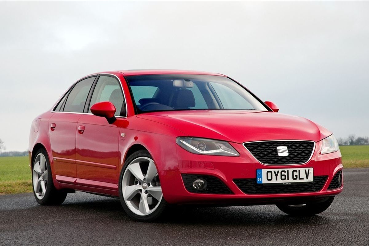seat exeo 2009   car review honest john