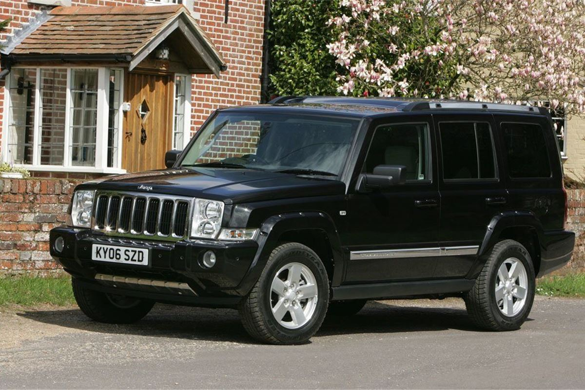 jeep commander 2006 car review honest john. Black Bedroom Furniture Sets. Home Design Ideas
